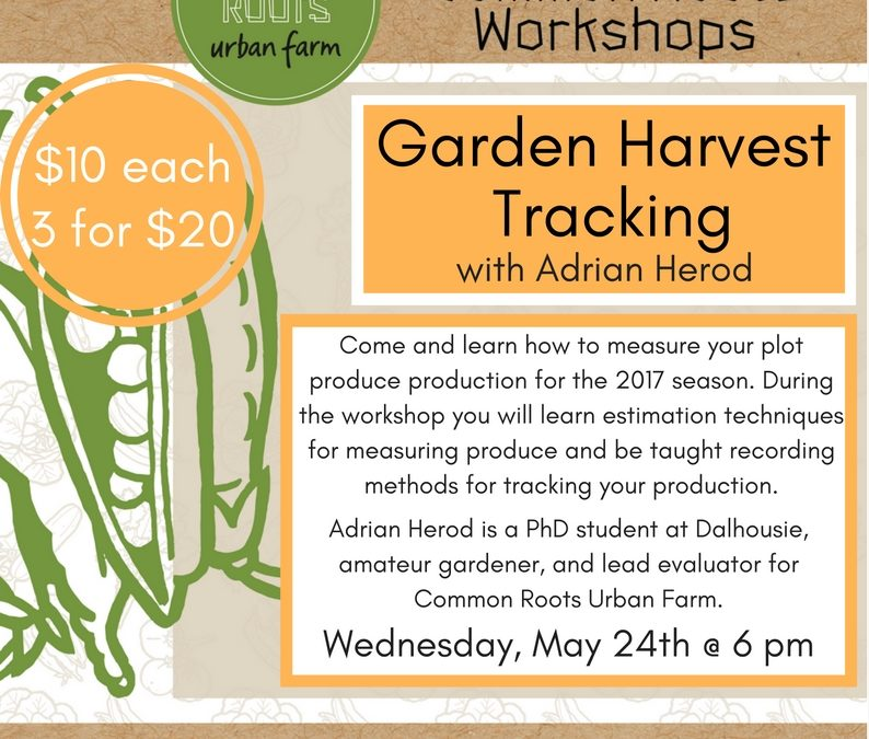 Workshop: Garden Harvest Tracking