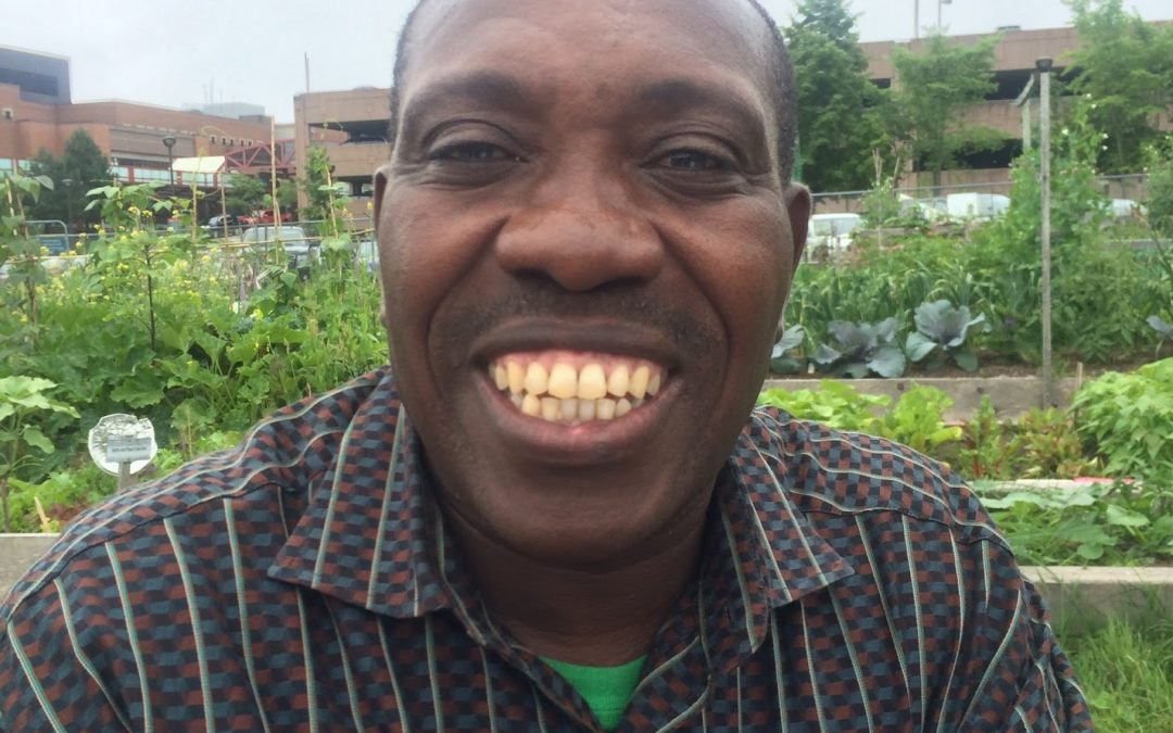 Profile: Salvatory Ntirampeba, Deep Roots volunteer