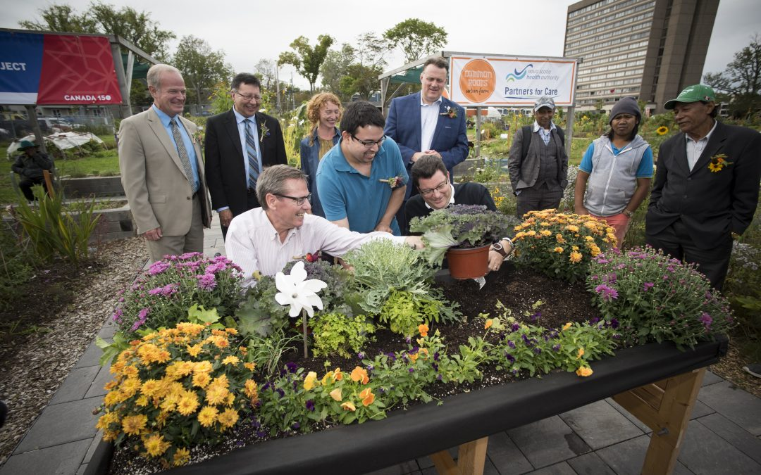 Accessible Media on the Rick Hansen Healing Garden opening