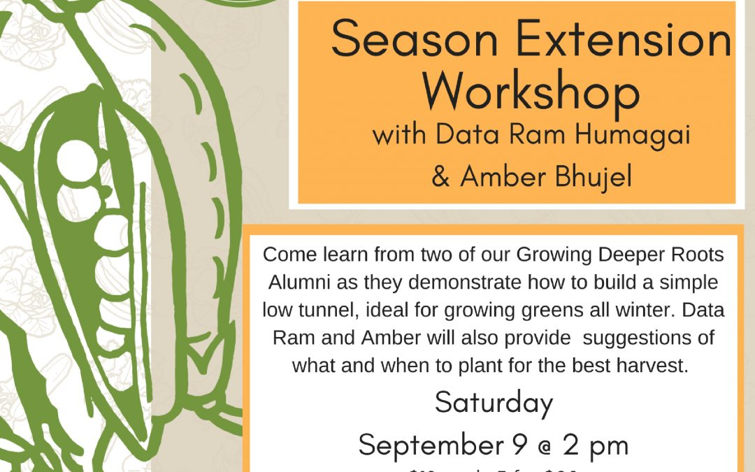 Season Extension Workshop!