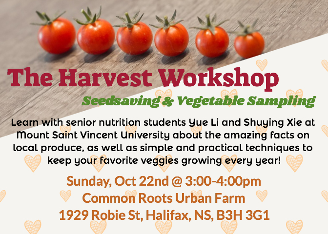 The Harvest Workshop