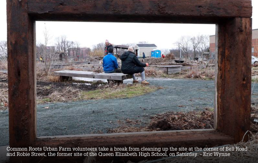 Common Roots Urban Farm preps for move to Bayers Road site